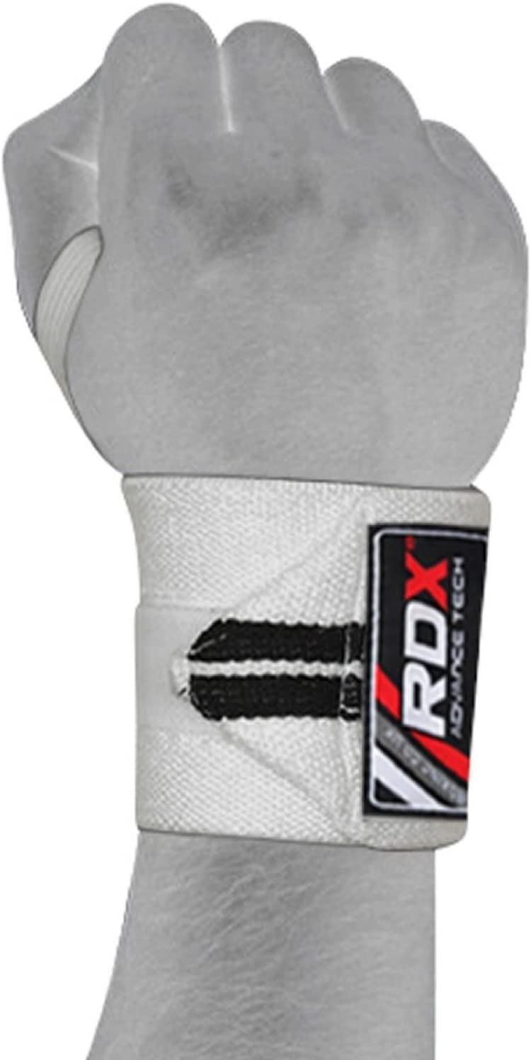 RDX Gym Weight Lifting Wrist Wraps Power Training Exercise Straps Bodybuilding Workout