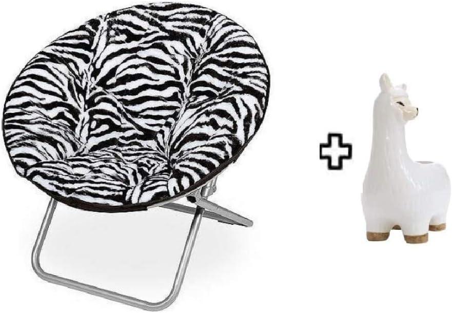 Mainstay Saucer Chair, (1, Zebra)