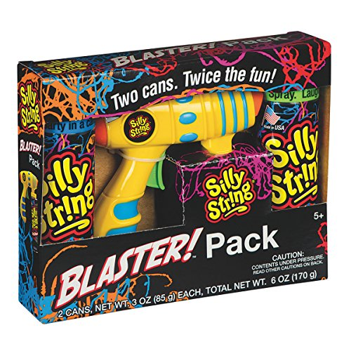 Brand NEW Silly String Blaster Pack Toy Shooter For Kids Children Adults Birthday Party Office Celebration Weddings