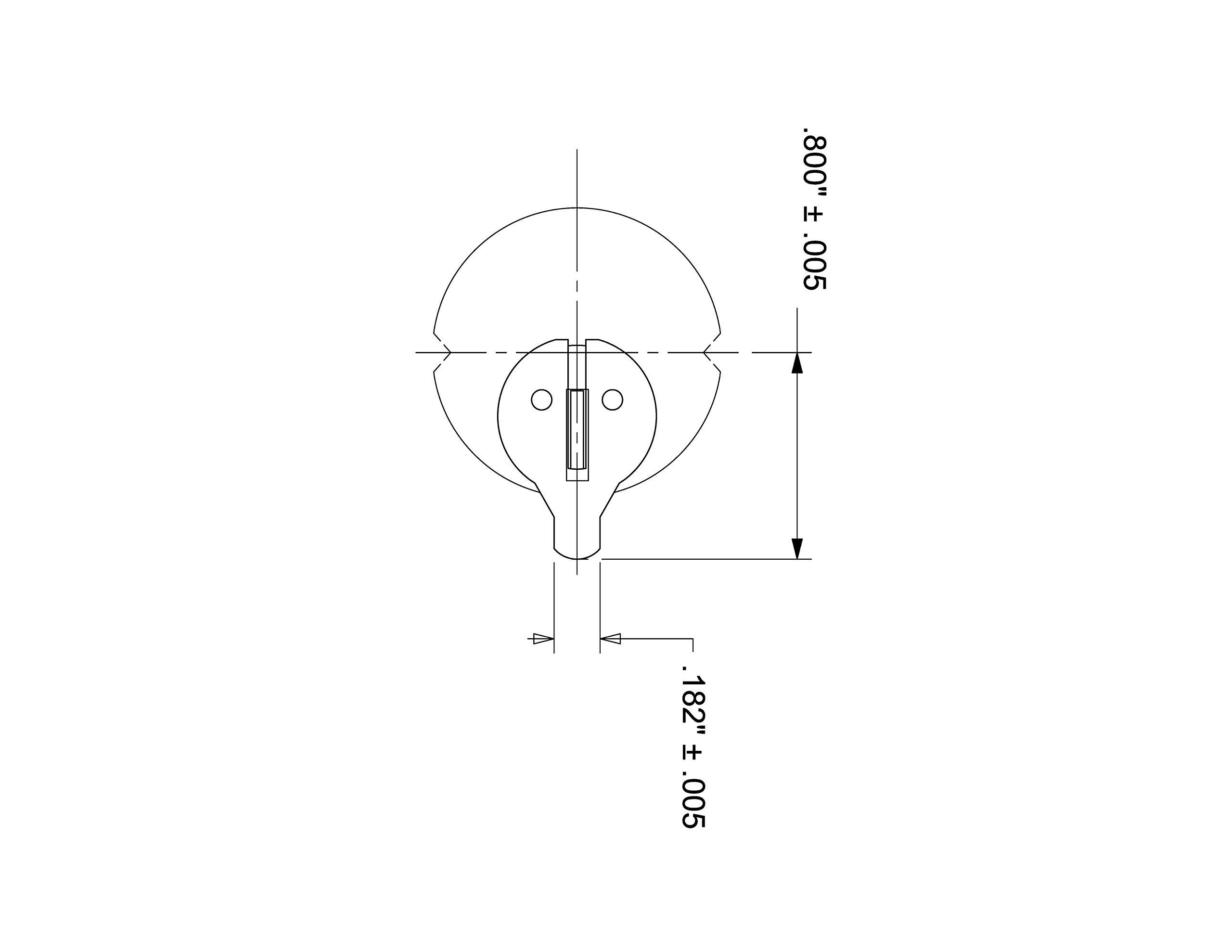 Mortise Keyed Cylinder Lock in Aluminum finish - KA per pair, sold in pair, keyed alike, SC1 keyway. 1-5/32 inch diameter mortise cylinder.