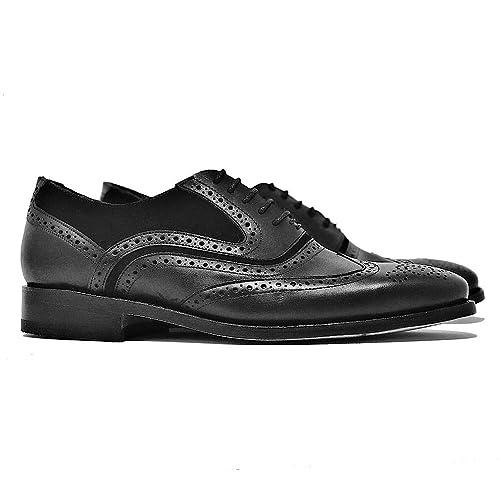 Dasalo Zapato Shoes Oxford Para Handbags Estilo amp; Artesanal Hombre wrrqUCPx