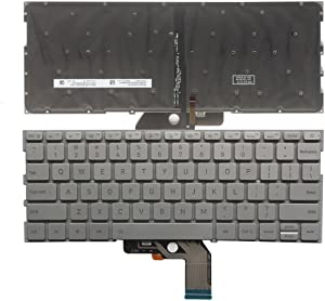 New Laptop Replacement Keyboard for XiaoMi MI air 13.3 MK10000005761 490.09U07.0D01 US Layout with Backlight