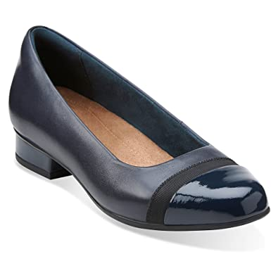 d96367a8bc CLARKS Women's Keesha Rosa Slip-On,Navy Leather,US ...