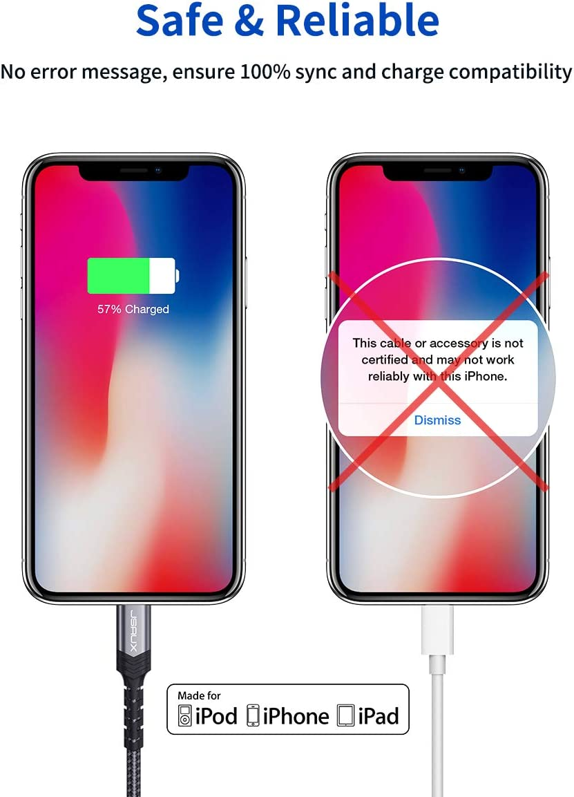 Supports Power Delivery-Blue USB C to Lightning Cable 4FT Apple MFi Certified JSAUX iPhone 11 Lightning to USB-C Fast Charging Cable Compatible with iPhone 11//11 Pro//11 Pro Max//X//XS//XR//XS//8//8 Plus