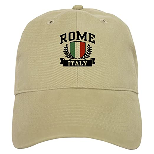 CafePress - Rome Italy Cap - Baseball Cap with Adjustable Closure 912842015cb