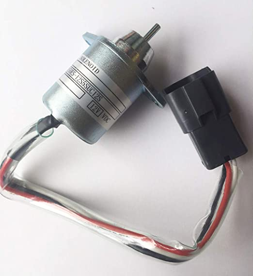 Blueview 12V Shut off solenoid 1503ES-12S5SUC12S for YANMAR engine Komatsu equipment