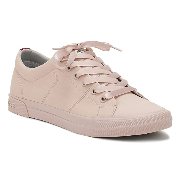 79bdef94118bd Tommy Hilfiger Womens Pink Y2285ARMOUTH 2D Trainers  Amazon.co.uk  Shoes    Bags