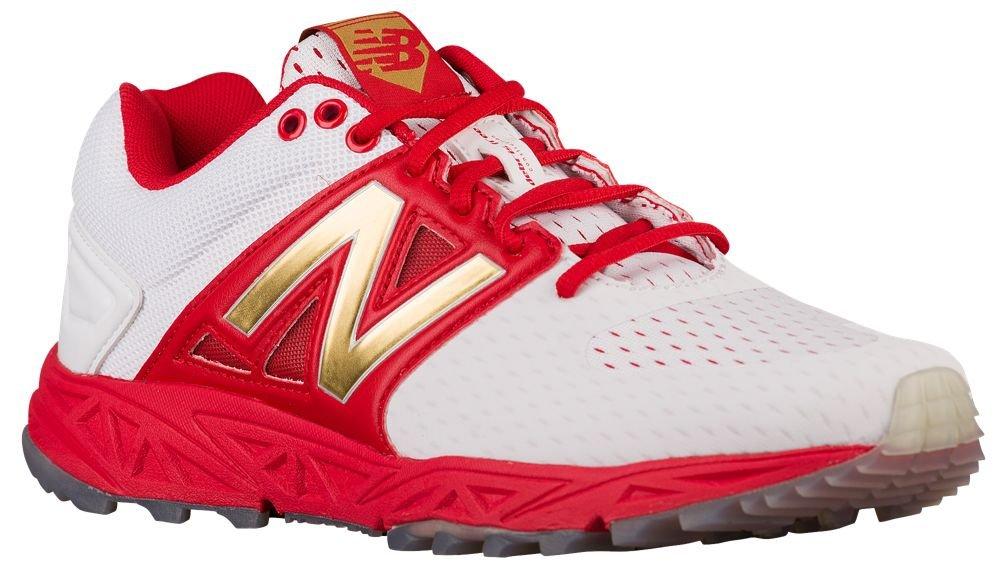 [ニューバランス] New Balance 3000V3 Trainer Playoff Pack メンズ ベースボール [並行輸入品] B0714F2L19 US15.0 ホワイト/レッド ホワイト/レッド US15.0
