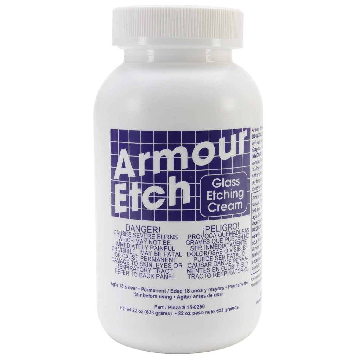 Armour Products Armour Etch Glass Etching Cream 22 oz. 15-0250