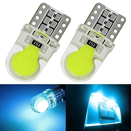 Bombillas LED Coche Moto T10 W5W COB 1W