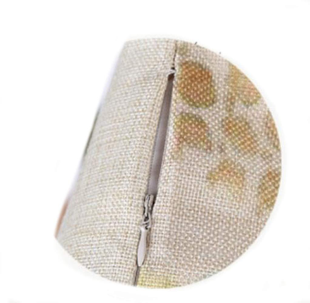 YUEMING Federa foglieTropicali Cotone Biancheria Cuscino Decorativo Caso Federa per Cuscino per casa Camera da Letto Interno allaperto 45x45cm animale2