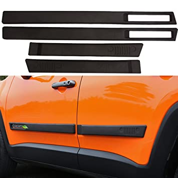 Umbral de la puerta borde ajuste para Jeep Renegade 2015 – 2017 lado Nerf Bar placa