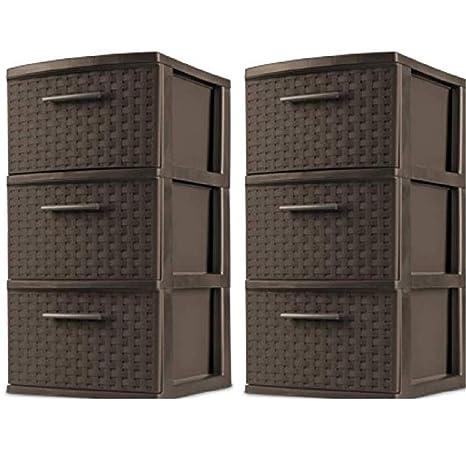 Amazon.com: Stèrìlìte.. Estuche de 3 cajones para 2 torres ...