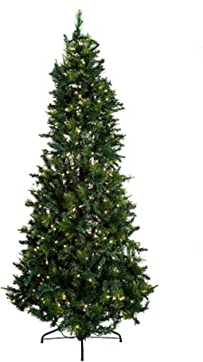 Kurt Adler 7-1/2-Foot Pre-Lit Designers Series Classic Green Tree