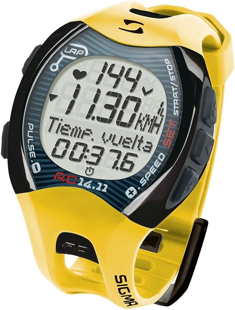 Sigma 21410 - Reloj pulsómetro deportivo, incluye banda torácica, señal codificada
