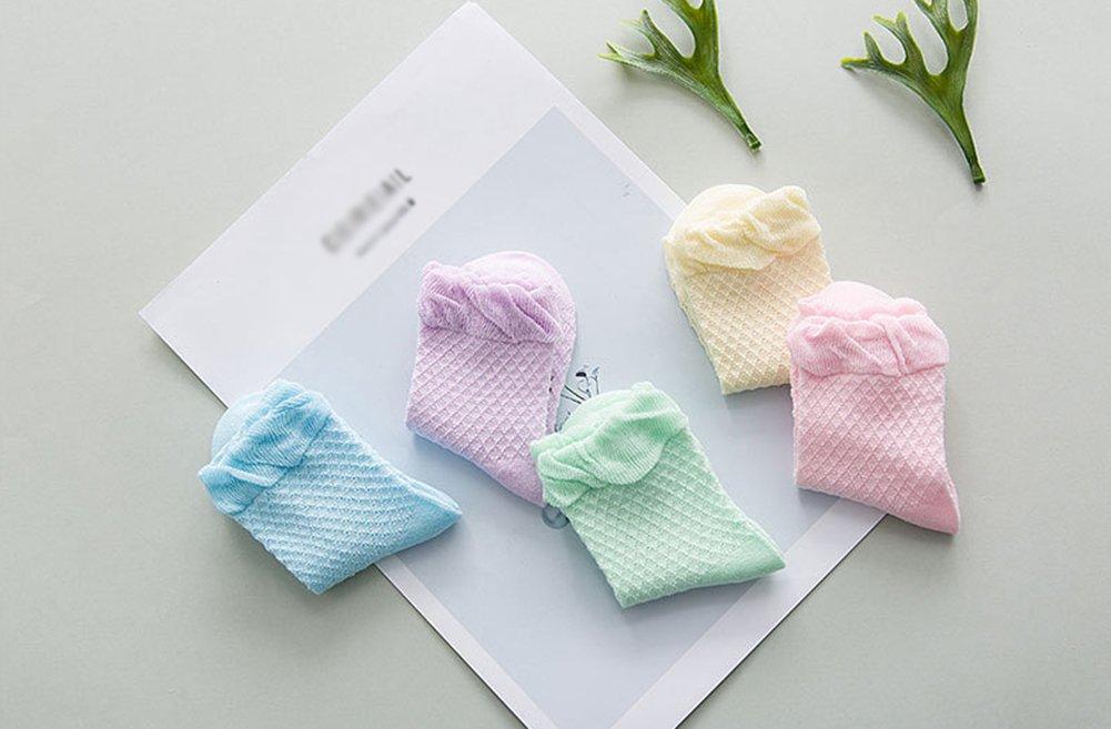 Antideslizantes Namgiy Calcetines de beb/é para beb/é Suaves y el/ásticos Color al Azar