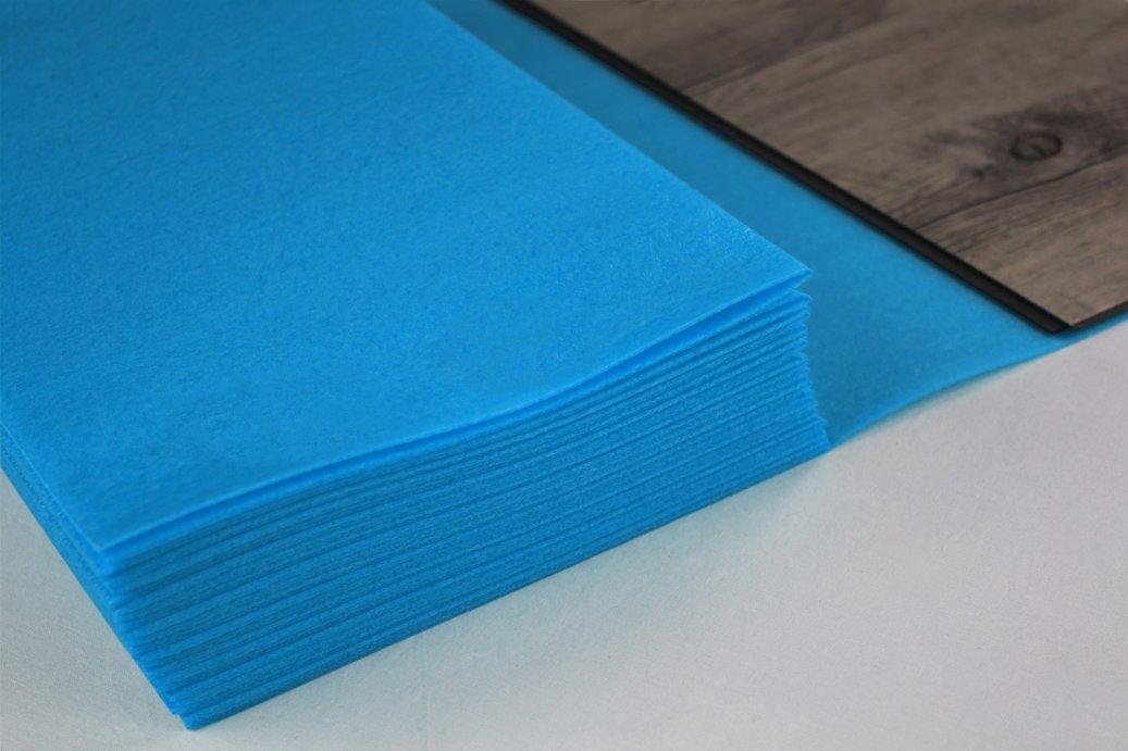 PE-VINYL Boden Unterlage Klick Vinyl 30 m/² Trittschalld/ämmung f/ür Vinylboden