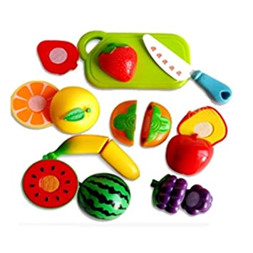 Play Kitchen Food | Amazon Com Vipe Children Pretend Role Play Kitchen Fruit