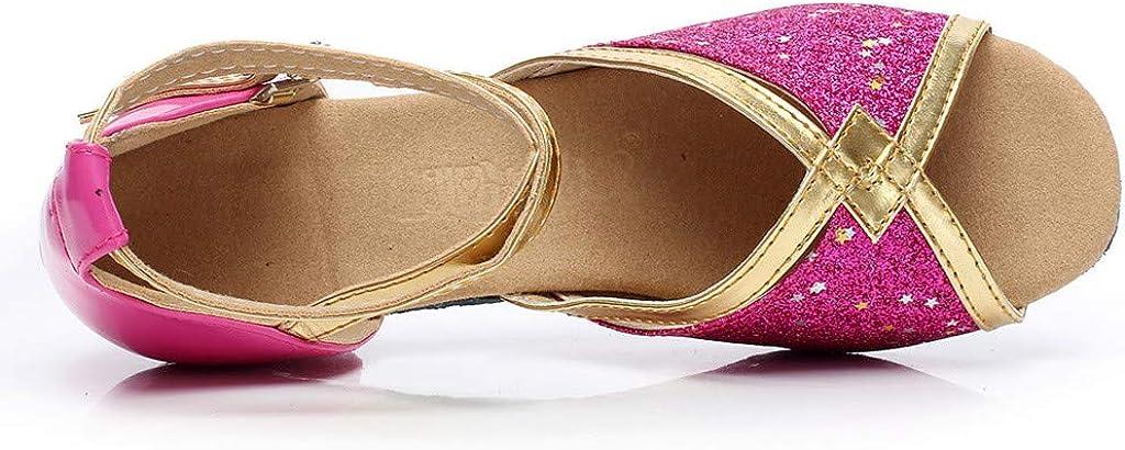TIFIY Damen Tanzschuhe Kleinkind Baby Kinder M/ädchen Prinzessin Tanzen Ballsaal Tango Latin Schuhe Sandalen Party Tanzen Salsa Tango Ballsaal Latin Tanzschuhe