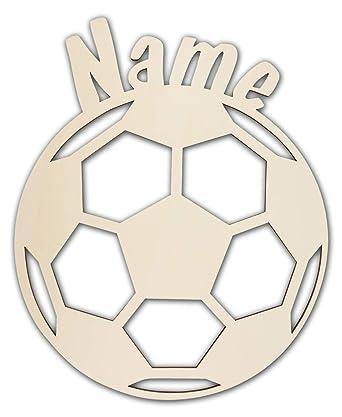 Schlummerlicht24 3d Led Fussball Motiv Geschenke Nachtlicht Lampe Fussball Mit Name Fur Junge Und Madchen Fussball Zimmer