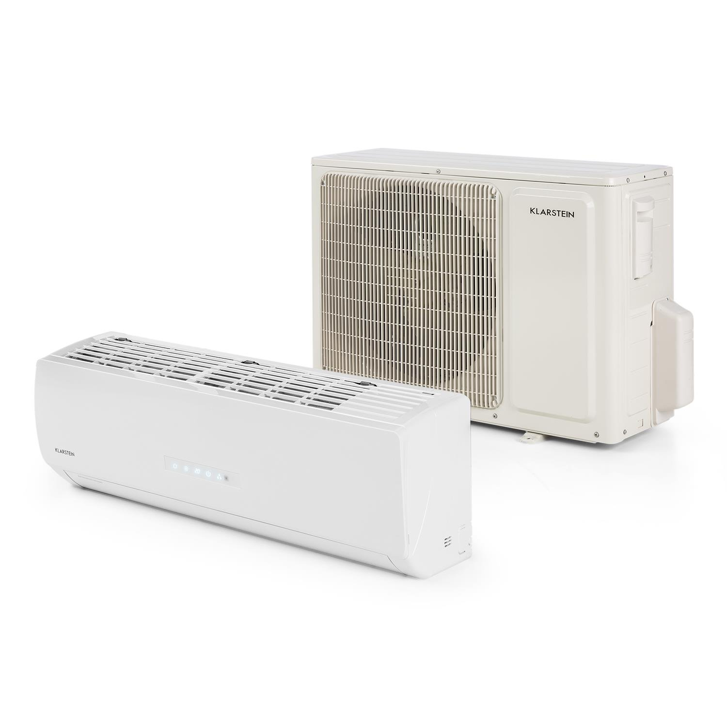 Klarstein Windwaker Supreme 9000 Inverter Split Air Conditioner - 9000BTU, 2.6/2.8 kW RC, Cooling and Heating Function, Class A+++, Remote Control, 5 Modes of Operation, White