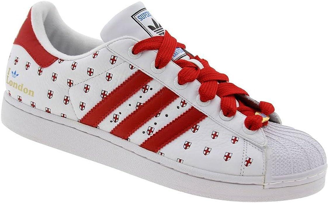 popular Campo de minas tocino  Adidas Superstar 35th Anniversary Cities Series #23 London, US Men size:  12: Amazon.co.uk: Shoes & Bags