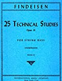 img - for 25 Technical Studies, Op. 14, Book 3 for String Bass (IMC1429) book / textbook / text book