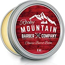 Beard Balm - Unscented - Canadian Made 100% Natural - Premium Wax Blend with Nutrient Rich Bees Wax, Jojoba, Coconut Oil