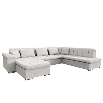 Outlet Ecksofa Niko Design Sofa Couch Mit Schlaffunktion U Sofa