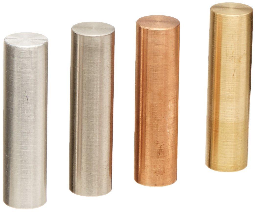 Ajax Industrial Scientific –  0630 6 Stü ck Metall Zylinder-Set, 10 mm Durchmesser X 30 mm Lä nge Ajax Scientific Ltd ME108-0630
