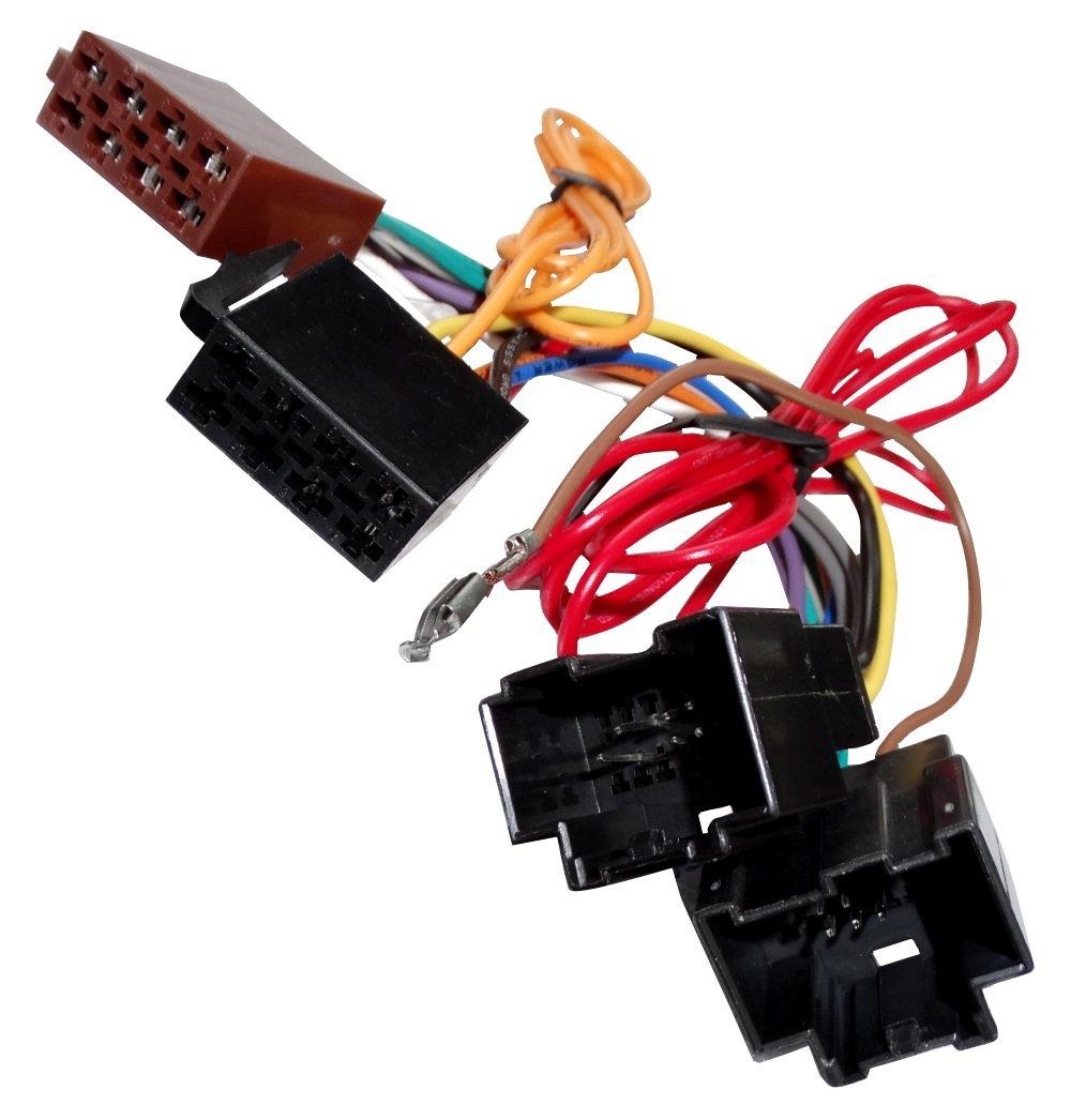 Adattatore convertitore cavo di collegamento per autoradio con spina ISO Aerzetix
