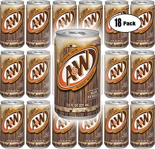Soft Drinks: A&W Rootbeer