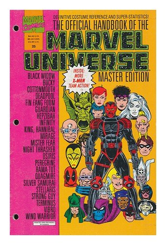 The Official Handbook of the Marvel Universe : Master Edition. Vol. 3, No. 25, 1992