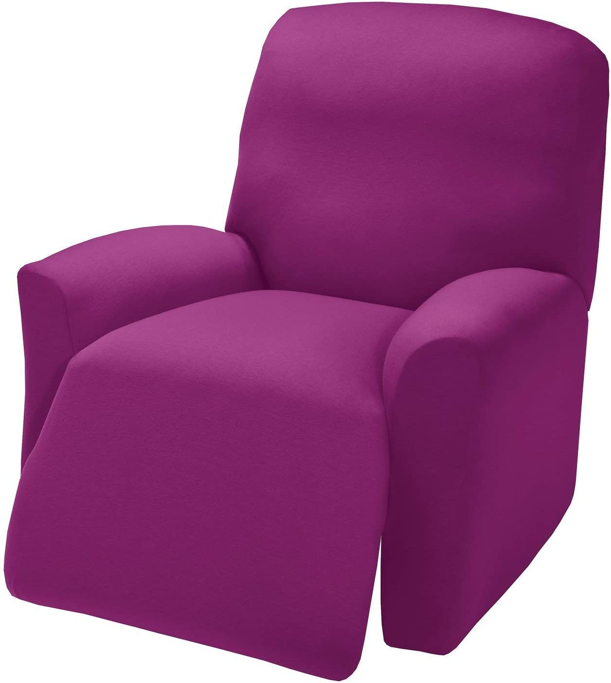 Madison Jersey Recliner Slipcover, Large, Purple