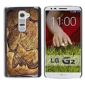 Be Good Phone Accessory // Dura Cáscara cubierta Protectora Caso Carcasa Funda de Protección para LG G2 D800 D802 D802TA D803 VS980 LS980 // Wood Pattern