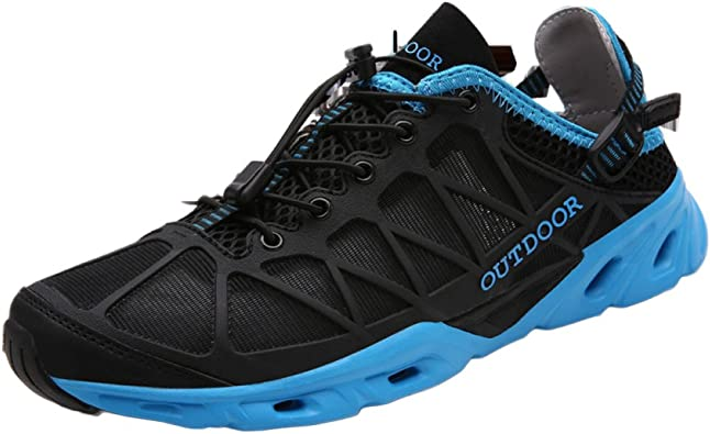 Zapatos De Trail Running para Hombre Sports Fitness Sneakers Durable Low Rise Lighten Outdoor Alpinismo Impermeable Antideslizante: Amazon.es: Zapatos y complementos