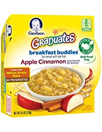 Gerber Graduates Breakfast Buddies - Apple Cinnamon Cereal, 4.5-Ounce (Pack of 8) BOBEBE Online Baby Store From New York to Miami and Los Angeles