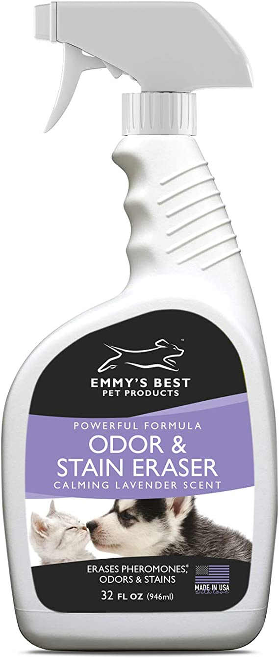 Emmy's Best Powerful Pet Odor Remover Color Saver and Urine Eliminator Deodorizer Exclusive Enzyme Carpet Cleaner Solution Takes Out Tough Stains