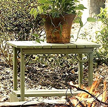 Fantastic Amazon Com Uwharrie Southern Pine Side Table Forest Green Ncnpc Chair Design For Home Ncnpcorg