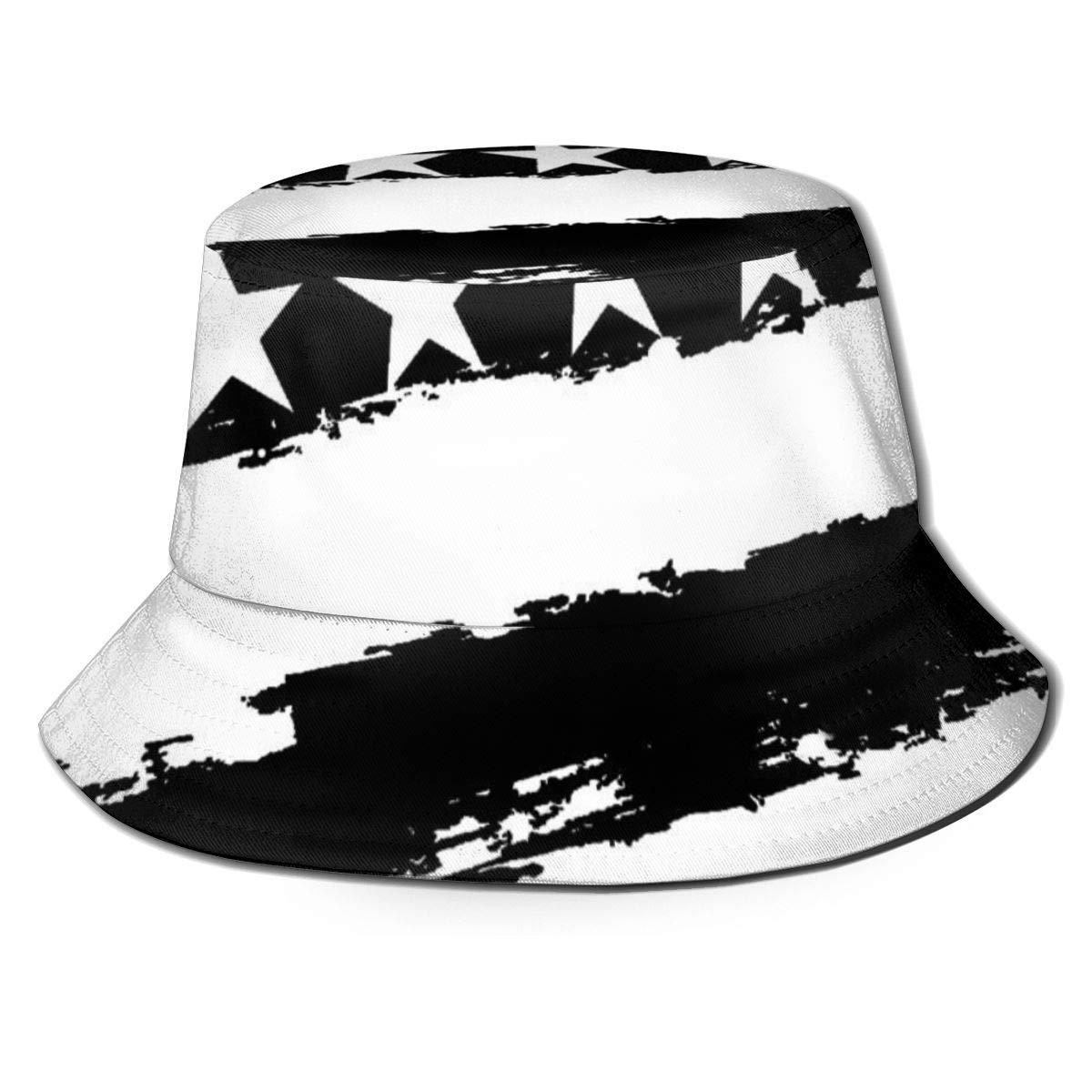 Soft Mesh Back Trucker Hat for Unisex Boys and Girls 100/% Polyester Black and White American Flag Mesh Cap