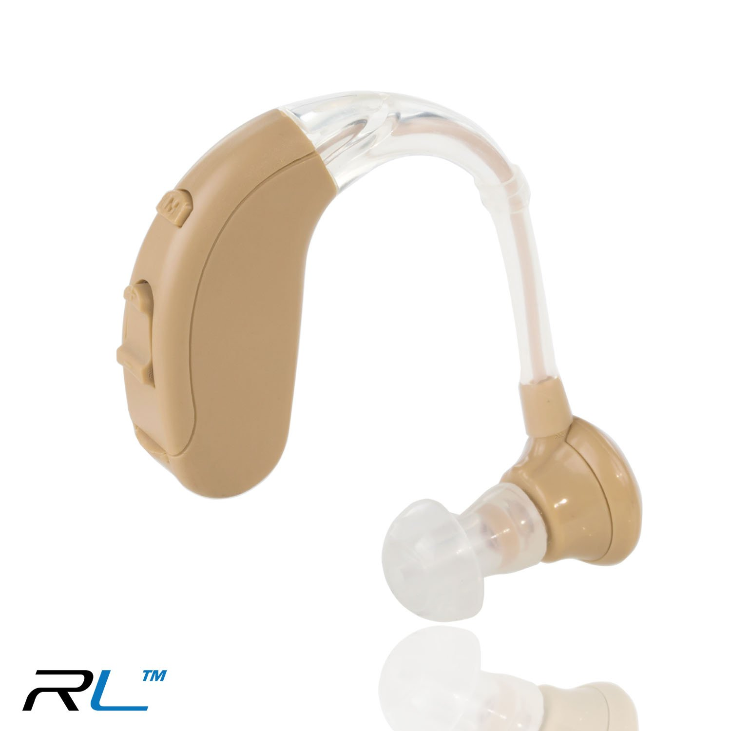 R&L Digital Hearing Amplifier, Small and Lightweight Sound Amplifiers, Adjustable for Left and Right Ear
