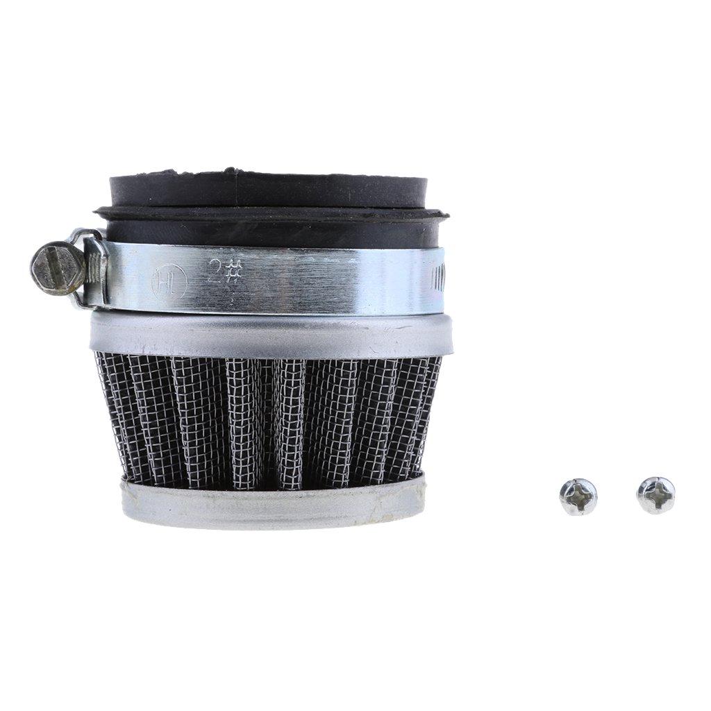 Carb Adaptor 49cc PIT Dirt Pocket Quad Bike ATV 42mm Pod Air Filter Cleaner