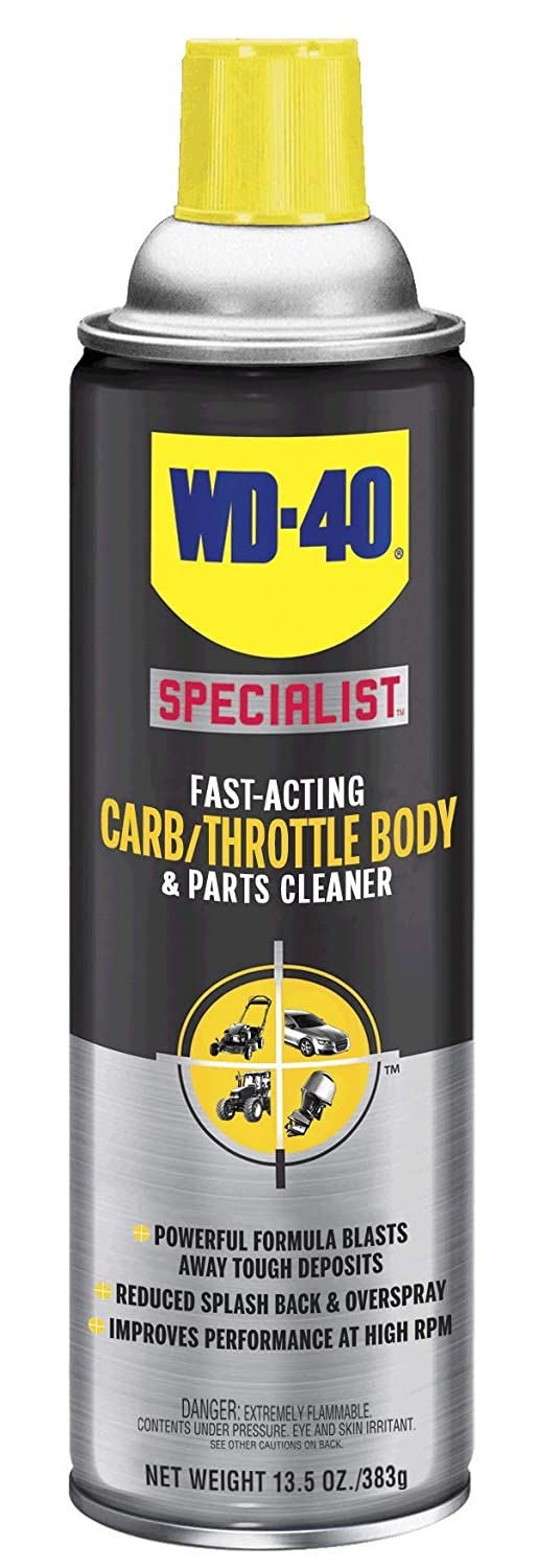 WD-40 Specialist Fast-Acting Carb/Throttle Body & Parts Cleaner