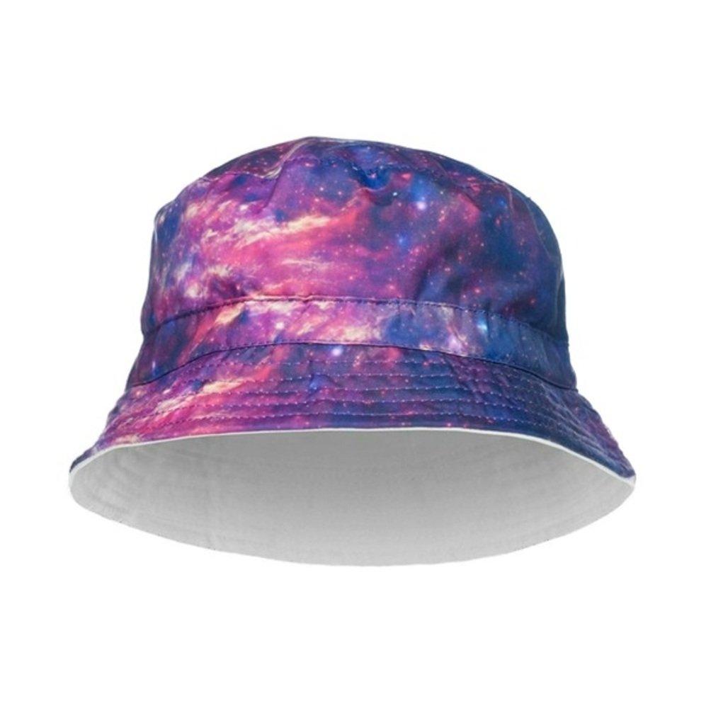 ZLYC Herren Frauen Unisex Galaxie Bucket Hat Fischerh/üte Sommerhut Outdoor-Hut