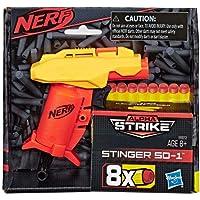Lanca Dardos Nerf Alphastrike Stinger - E6972 - Hasbro Nerf Lanca Dardos Nerf Alphastrike Stinger Laranja E Amarelo