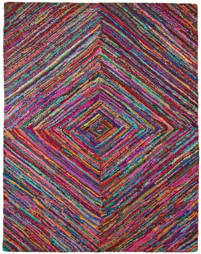 Brilliant Ribbon Vortex Rug