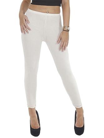 Love My Fashions Women's Italian Plain Full Length Stretchy Leggings