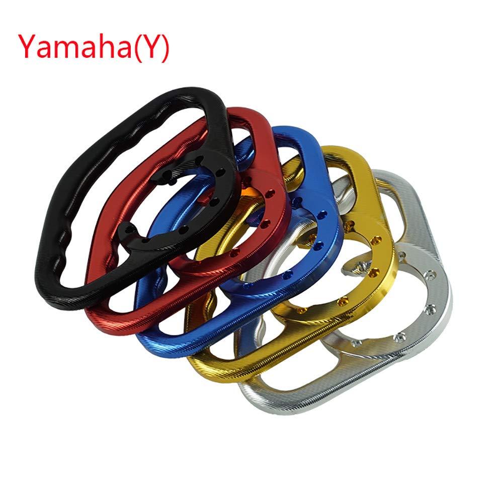 CBFYKU Per Yamaha YZF-R1 YZF-R6 1994-2014 YZF-R3 Passeggero per motociclette Impugnature per vasche maniglioni Colore : Rosso