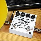 ACHICOO エレクトリックギターエフェクター デジタルディレイエフェクト サウンドエフェクトペダル エレキギターエフェクター JOYO D-SEED