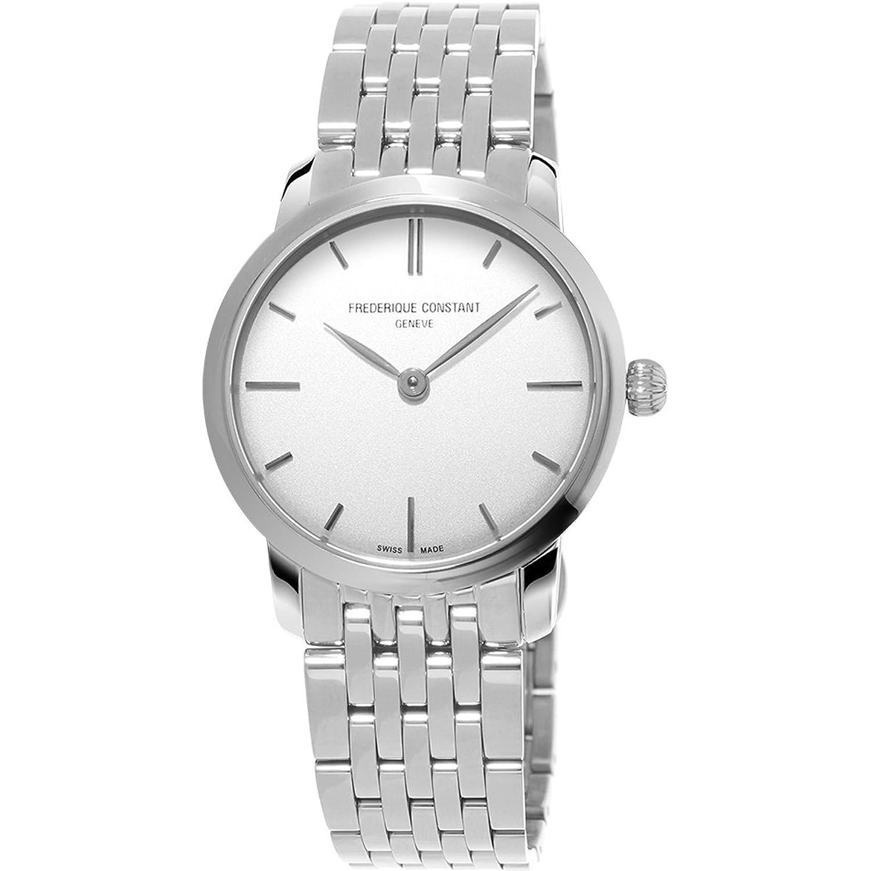 Frederique Constant Damen-Armbanduhr XS Analog Quarz Edelstahl FC-200S1S36B3